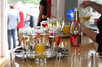 Summer Champagne reception