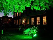 Linden House evening lighting
